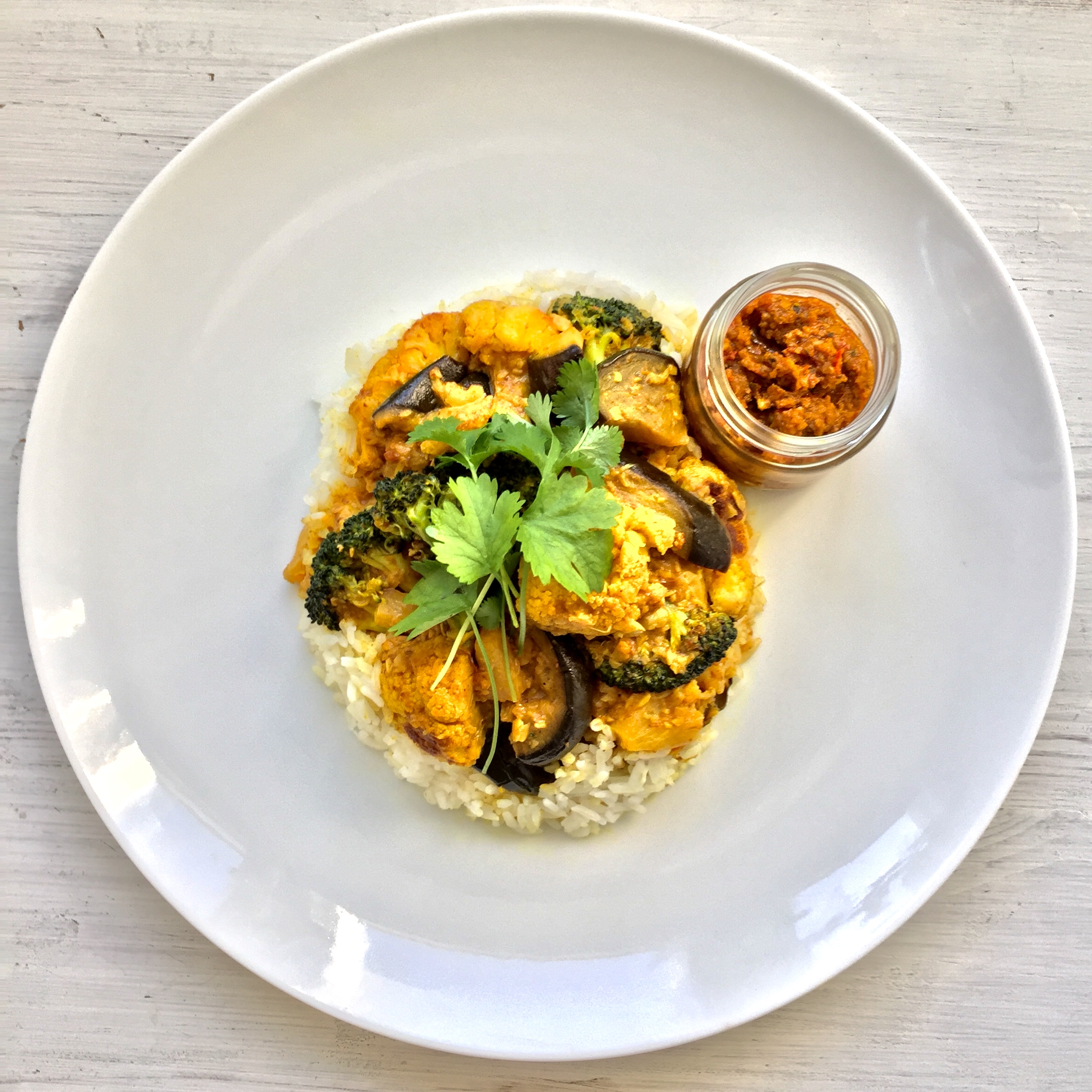 Secret Chilli Club - Cooking and Tasting Class - Roasted Curry Vegetable with Coconut Cream
